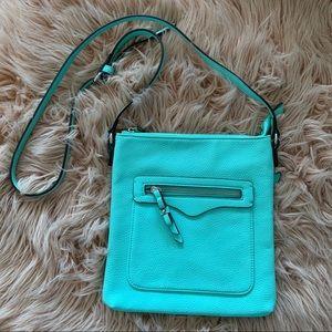 Charming Charlie Mint Green Crossbody Bag